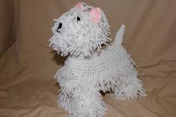 My hand-made treasures - westies highlang terrier